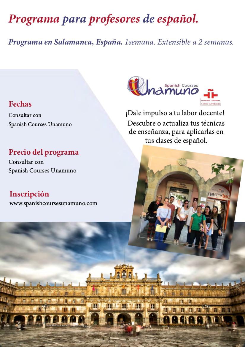 Programa para profesores de español