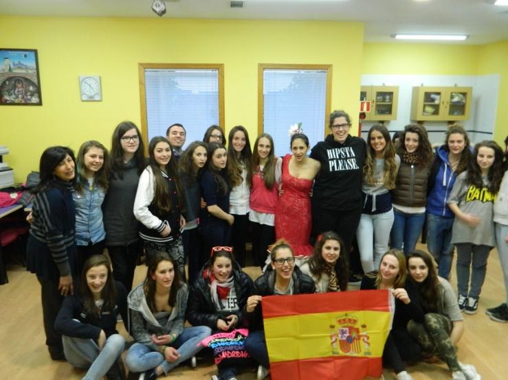Gruppo italiano in Spanish Courses Unamuno