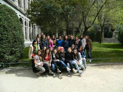 Gruppo italiano a Madrid